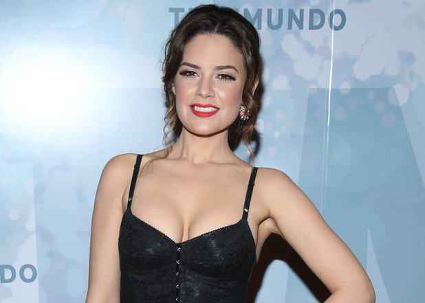 Angelica Celaya attends the 2014 Telemundo Upfront