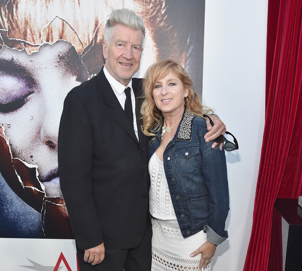LOS ANGELES, CA - JULY 16: Director David Lynch and actress Kimmy Robertson arrive to The American Film Institute Presents 'Twin Peaks-The Entire Mystery' Blu-Ray/DVD Release Screening at the Vista Theatre on July 16, 2014 in Los Angeles, California. (Photo by Alberto E. Rodriguez/Getty Images)