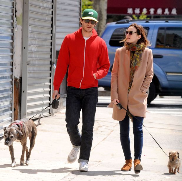 Leighton Meester and Adam Brody out and about, New York, America - 27 Apr 2014 Adam Brody and Leighton Meester 27 Apr 2014