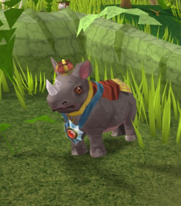 Black Rhino in RuneScape