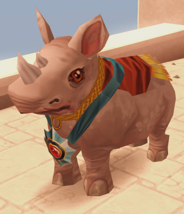 White Rhino in RuneScape