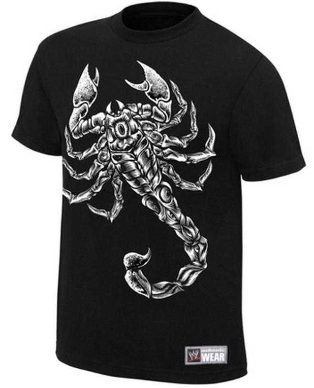 Sting Joins WWE 2K15 And WWE Shop Sells Scorpion T-shirt