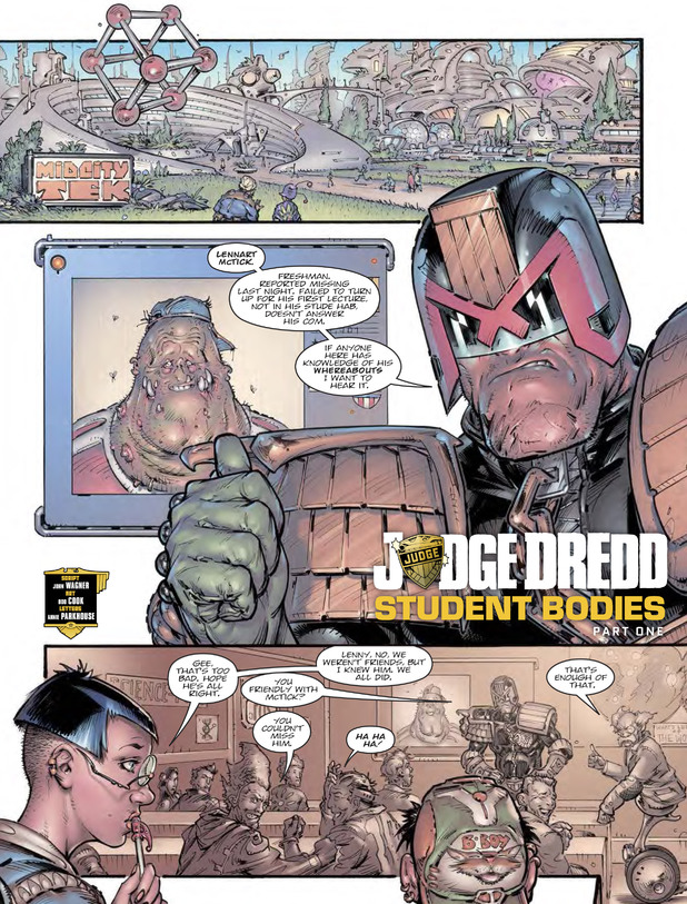Judge Dredd - Student Bodies