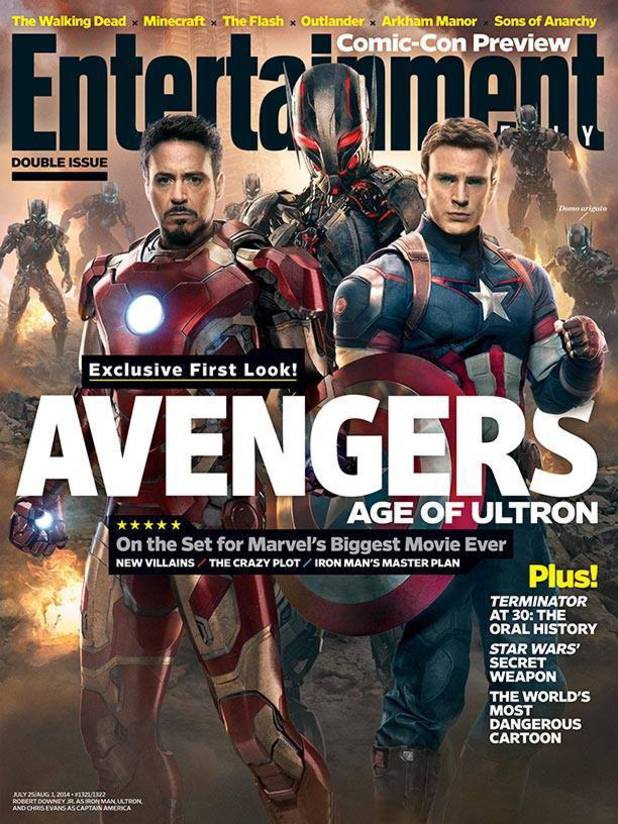 Avengers: Age of Ultron EW cover