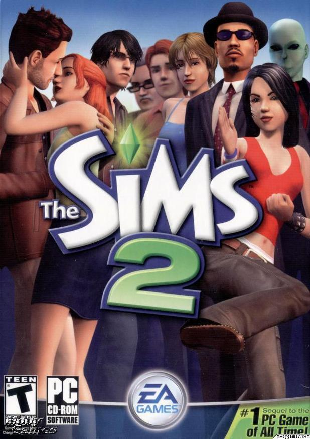 The Sims 2 PC box art
