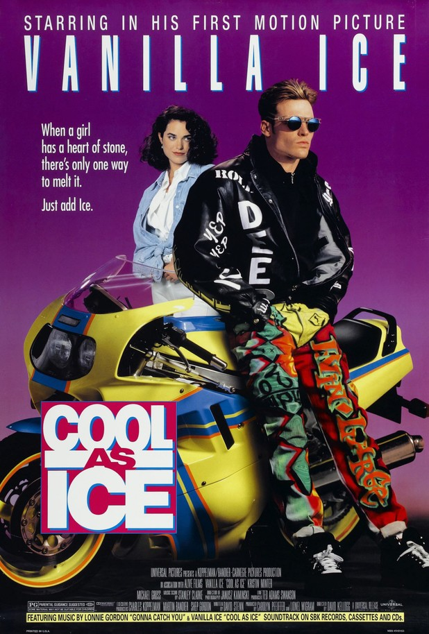 "Cool As Ice (1991) - ""When a girl has a heart of stone, there's only one way to melt it. Just add Ice."""