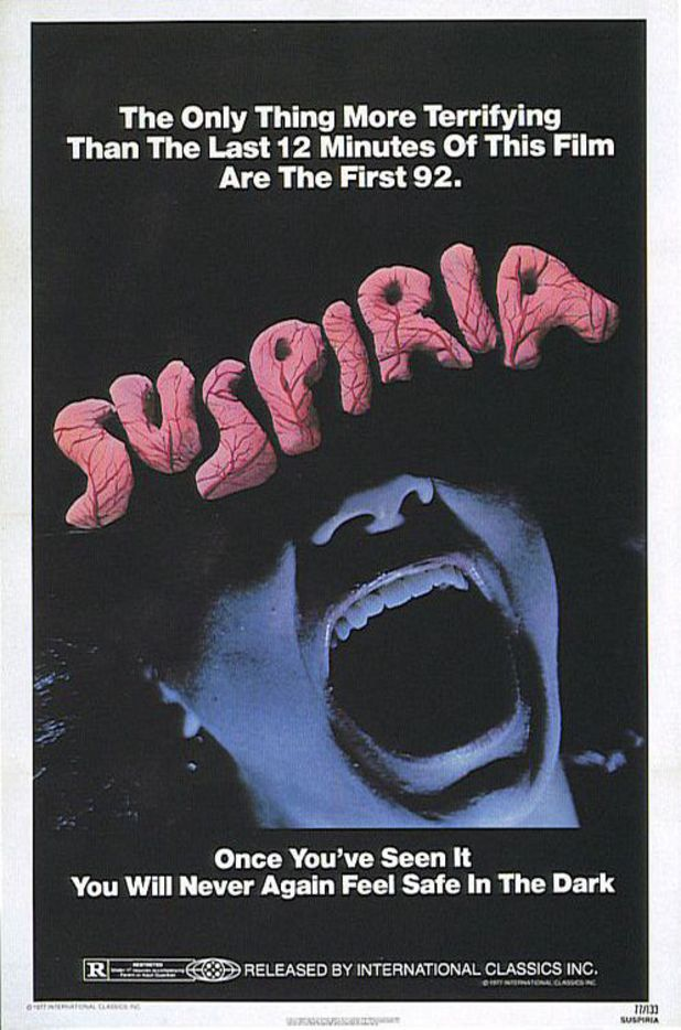"Suspiria (1977) - ""The only thing more terrifying than the last 12 minutes of this film are the first 92."""