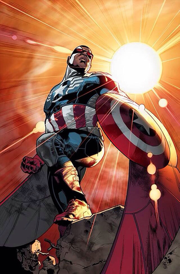 Marvel unveils Falcon as new Captain America