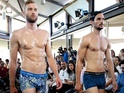 Fashion designers in Spain have made these sexy senors walk the runway in their pants.