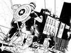 Dennis Hopeless and Szymon Kudranski are working on Captain America: Fear Him.