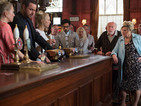 Cora causes big trouble for Mick at the Queen Vic next week.