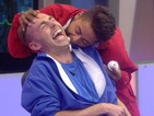 Big Brother Christopher: 'Mark is a really good kisser'