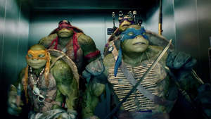 The 'Knock Knock' music trailer for Teenage Mutant Ninja Turtles features the new song 'Shell Shocked' by Wiz Khalifa, Juicy J, and Ty Dolla $ign.