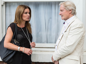 Ken Barlow gets a shock as he returns to Coronation Street