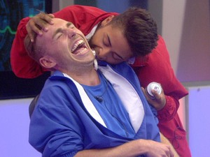 Christopher Hall and Mark Byron on Big Brother