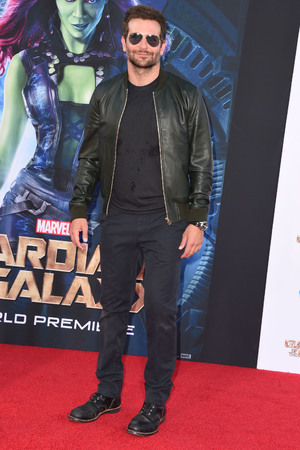 HOLLYWOOD, CA - JULY 21: Bradley Cooper arrives at the Marvel's 'Guardians Of The Galaxy' - Los Angeles Premiere at the El Capitan Theatre on July 21, 2014 in Hollywood, California. (Photo by Steve Granitz/WireImage)