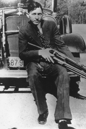 This is an undated photo of bandit Clyde Barrow. (AP Photo)
