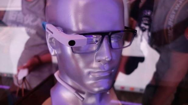 Lenovo smart glass device
