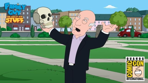 Patrick Stewart in Family Guy: The Quest For Stuff