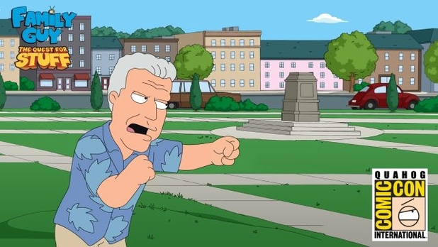 Ron Perlman in Family Guy: The Quest For Stuff