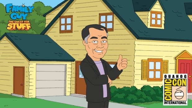 George Takei in Family Guy: The Quest For Stuff