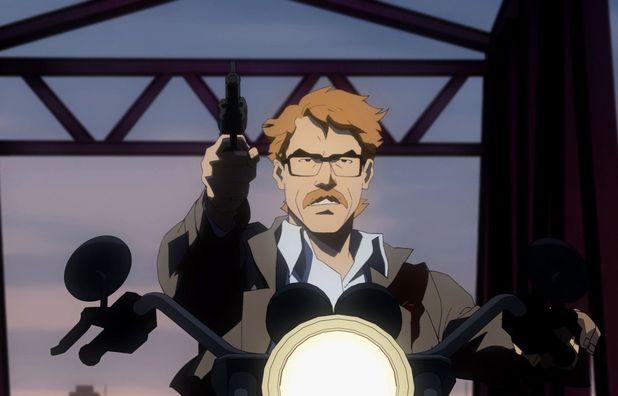 Jim Gordon in Batman: Year One
