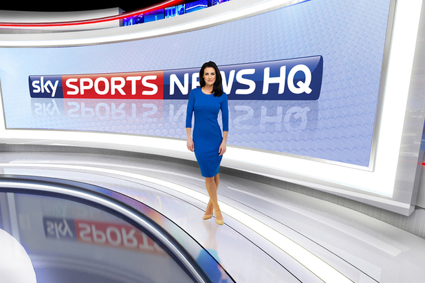 The Sky Sports News HQ studio