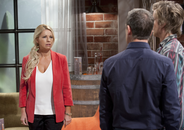 Lucy lays down the law for Paul