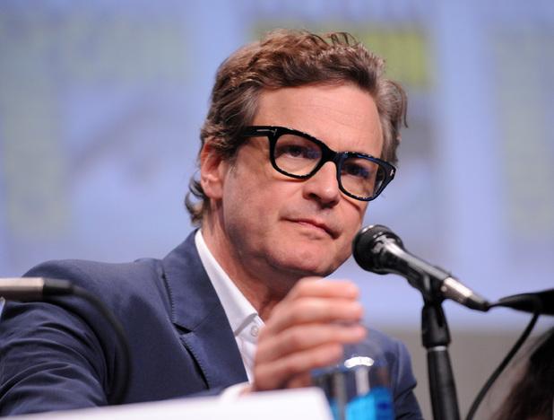 Colin Firth attends the 20th Century Fox presentation during Comic-Con