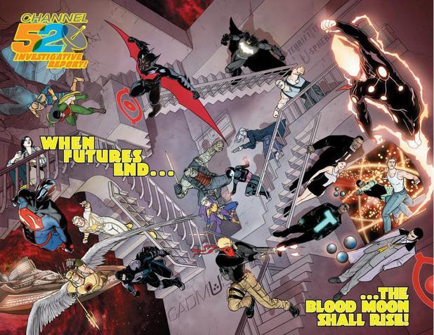 DC Comics Blood Moon teaser