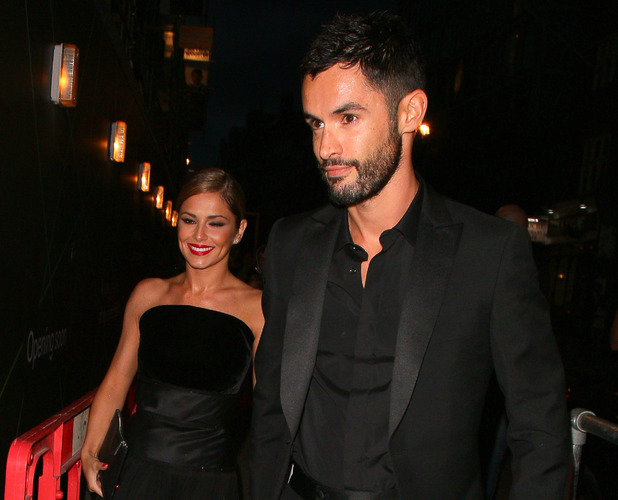 LONDON, UNITED KINGDOM - JULY 21: Cheryl Fernandez-Versini and Jean-Bernard Fernandez-Versini at Library to celebrate their marriage on July 21, 2014 in London, England. (Photo by Mark Robert Milan/GC Images)