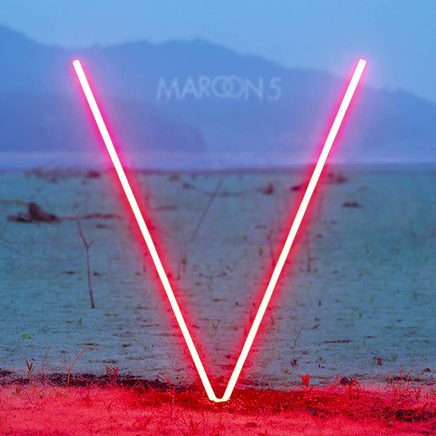 V Album Cover Maroon 5 Maroon 5  V  album artwork