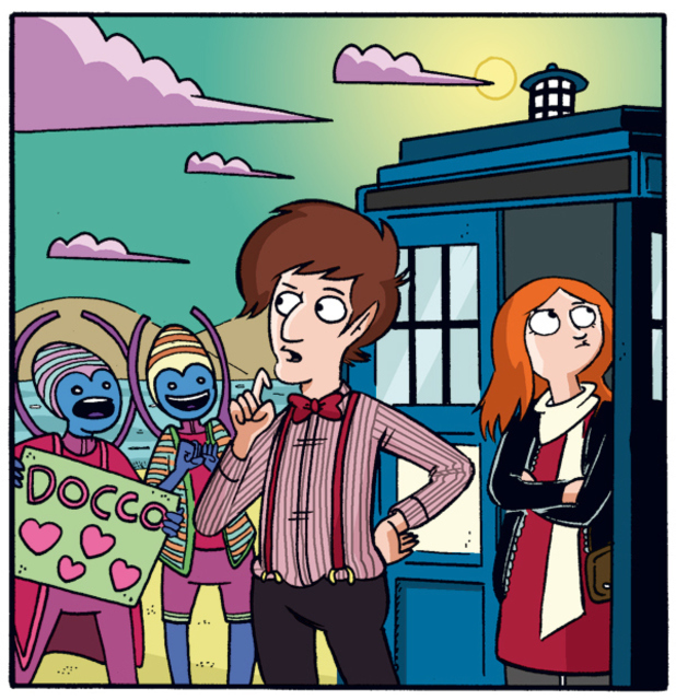 Marc Ellerby's Doctor Who: The Eleventh Doctor backup