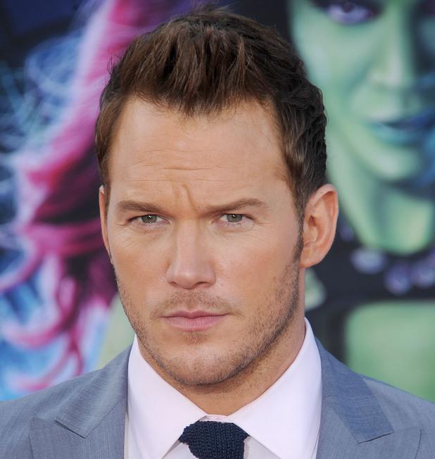 HOLLYWOOD, CA - JULY 21: Actor Chris Pratt arrives at the Los Angeles premiere of Marvel's 'Guardians Of The Galaxy' at the El Capitan Theatre on July 21, 2014 in Hollywood, California. (Photo by Gregg DeGuire/WireImage)