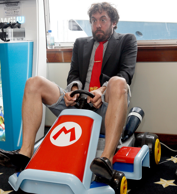 Actor Jonathan Kite attends the Nintendo Lounge on the TV Guide Magazine Yacht at Comic-Con