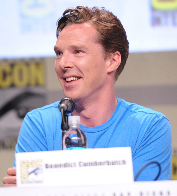 Benedict Cumberbatch attends the Legendary Pictures preview and panel during Comic-Con