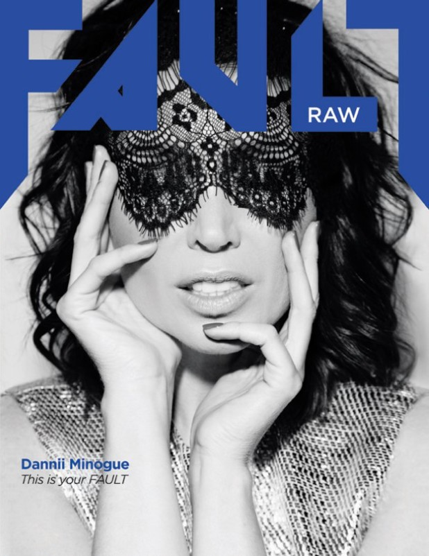 Dannii Minogue photoshoot for Fault Magazine