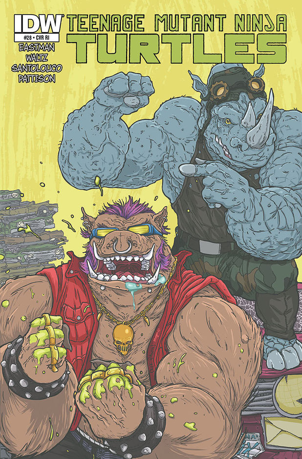 Bebop and Rocksteady from Teenage Mutant Ninja Turtles