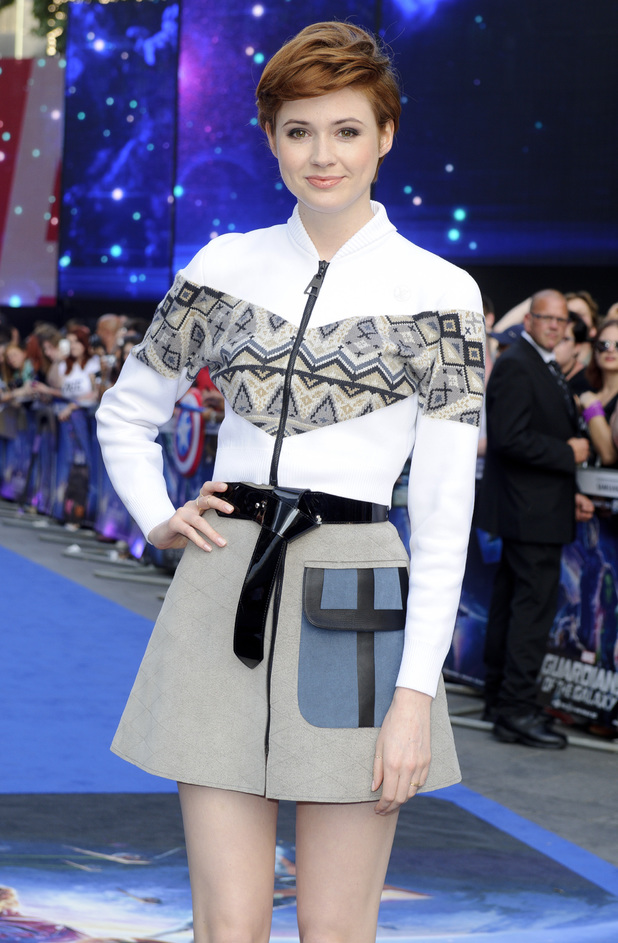 Karen Gillan Guardians of the Galaxy London premiere
