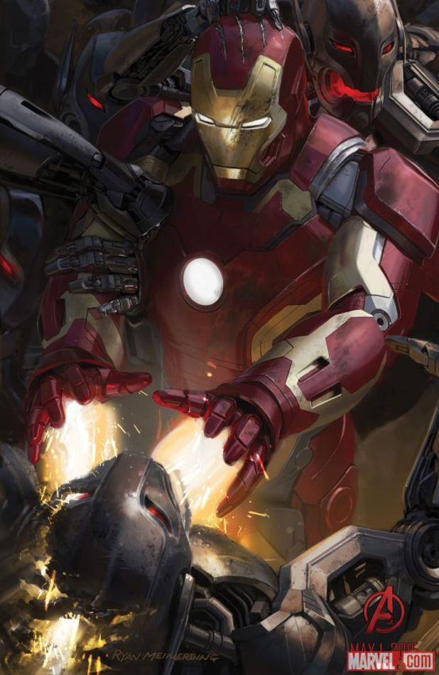 Avengers: Age of Ultron Iron Man poster