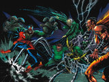 The Sinister Six and Spider-Man