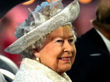 Queen Elizabeth II, Patron of the CGF arrives during the Opening Ceremony for the Glasgow 2014 Commonwealth Games