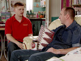 Kirk confides in Chesney that Beth's health scare has made him realise how much he loves her