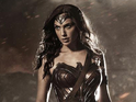 First look at Gal Gadot in full costume for Batman v Superman: Dawn of Justice.