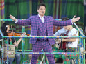 John Barrowman performs during the Opening Ceremony of the 20th Commonwealth Games 2014