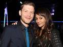 Joseph Morgan and Persia White attend The CW Network's 2014 Upfront party