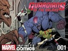 The digital comics lands alongside the Guardians of the Galaxy film.