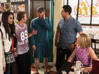 Coronation Street stayed ahead in Friday's soap ratings.