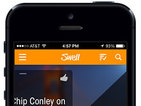 """Swell is described as the """"Pandora for talk radio"""" with its personalisation technology."""