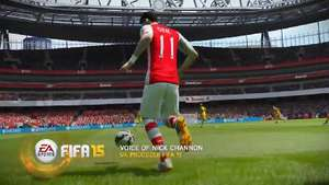FIFA 15 users will have more control over the ball and better balance